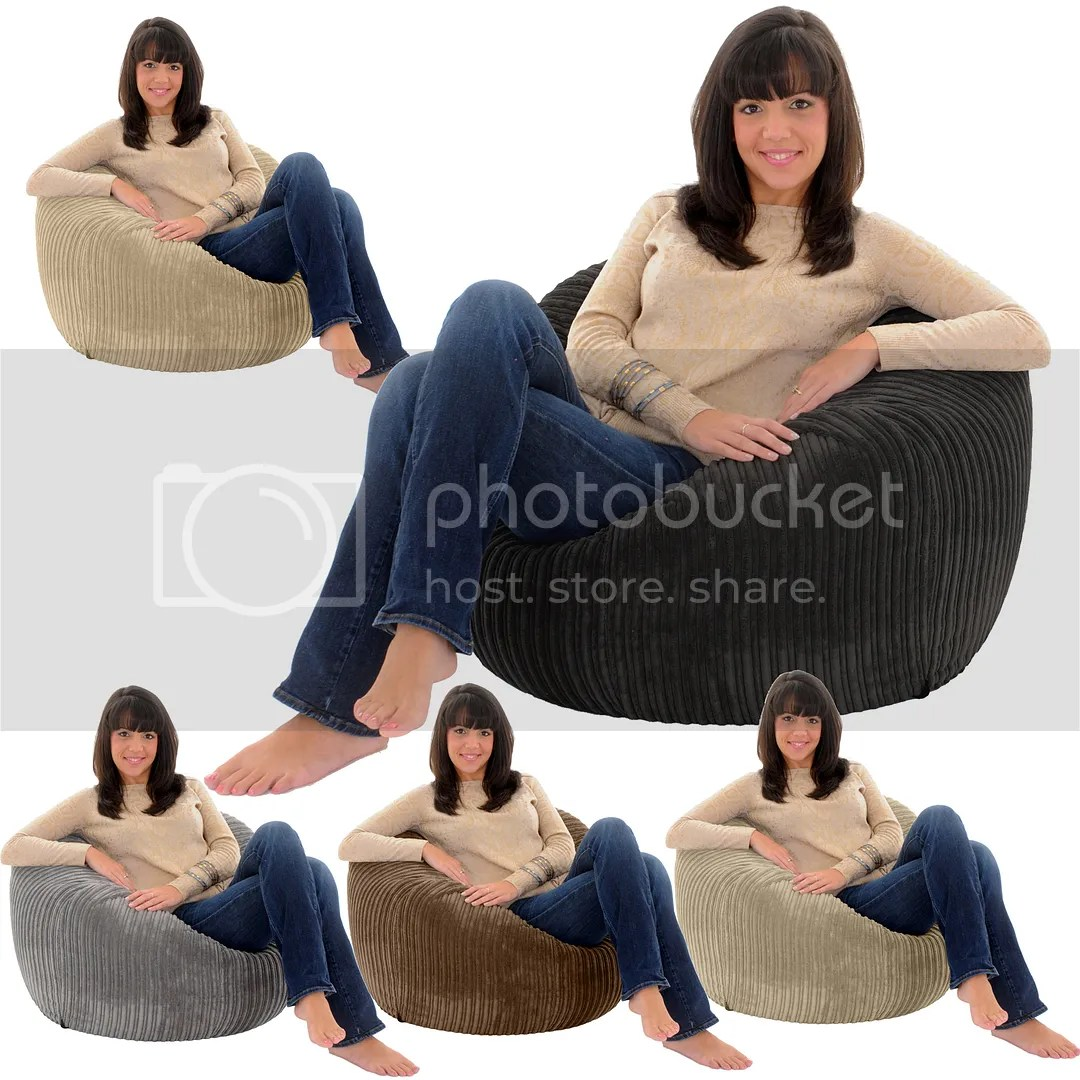 Giant Bean Bag Chairs For Adults Jumbo Cord Giant Adult Beanbag Chair Big Bean Bag Lounger
