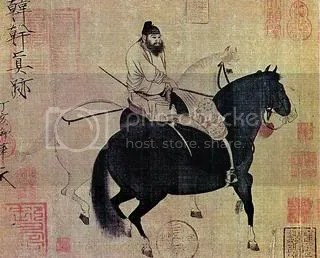 Han Gan, Walking the Horse
