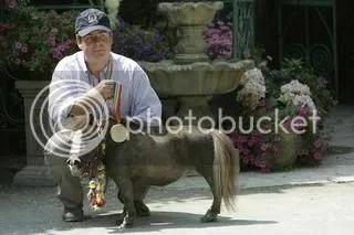Thumbelina and Michael Goessling
