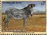 Part of a series honouring endangered animals, issued by the United Nations
