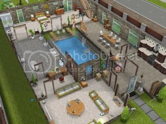 how have you modified pre built houses Unofficial Sims Freeplay/Mobile Forum