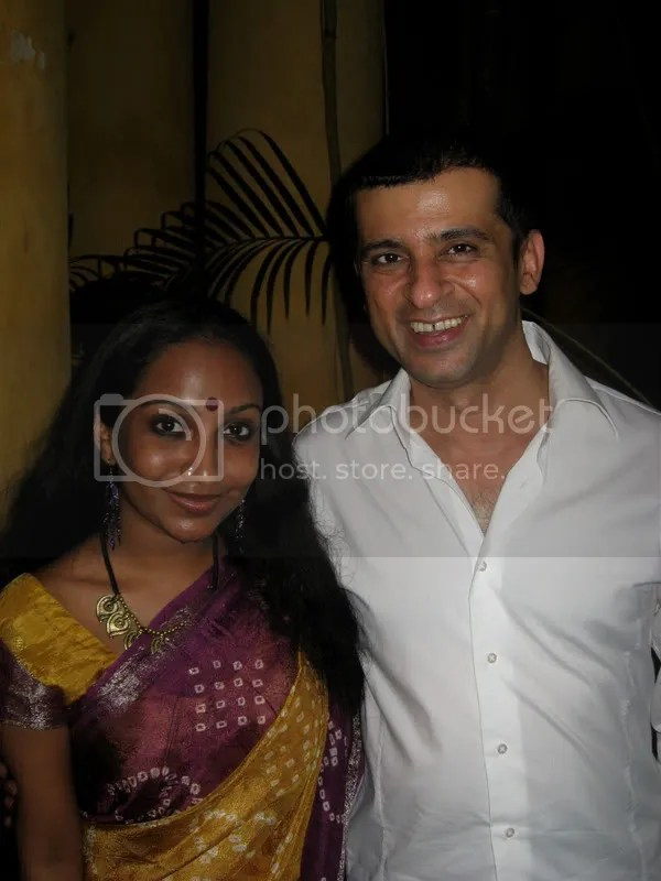 Ameen Merchant & Sharanya Manivannan