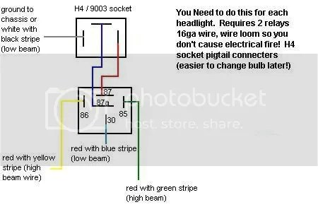 Toyota Headlight Wiring Diagram | mwb-online.co on