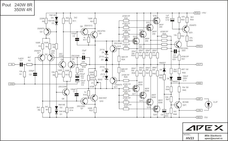 MOSFET Class-A Endstufe, Ruhestrom Einstellung