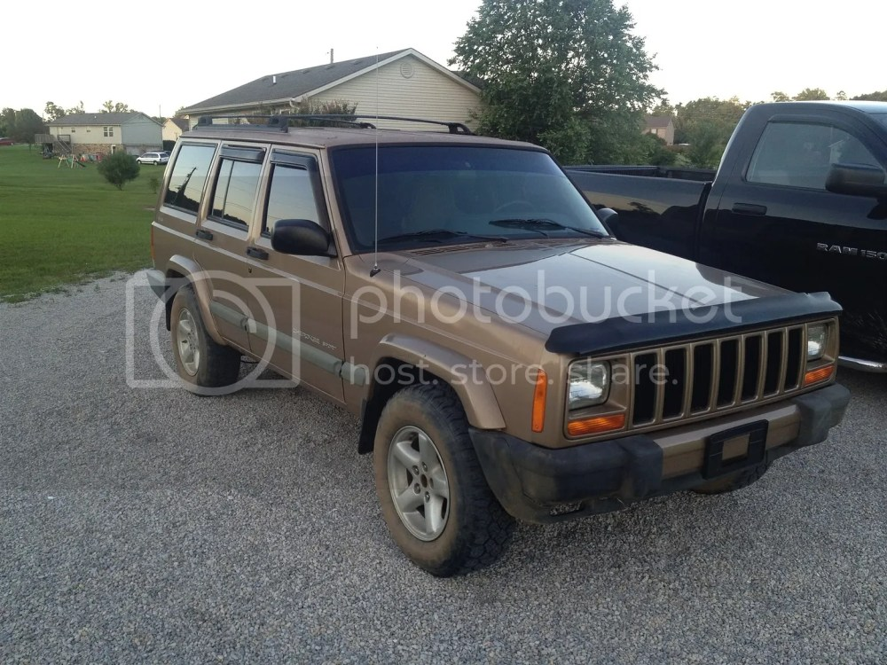 medium resolution of it s a 2000 cherokee sport in desert sand pearlcoat with 280 000 miles on the clock and the np242 selec trac full time four wheel drive transfer case