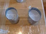 Silicone moulds curing