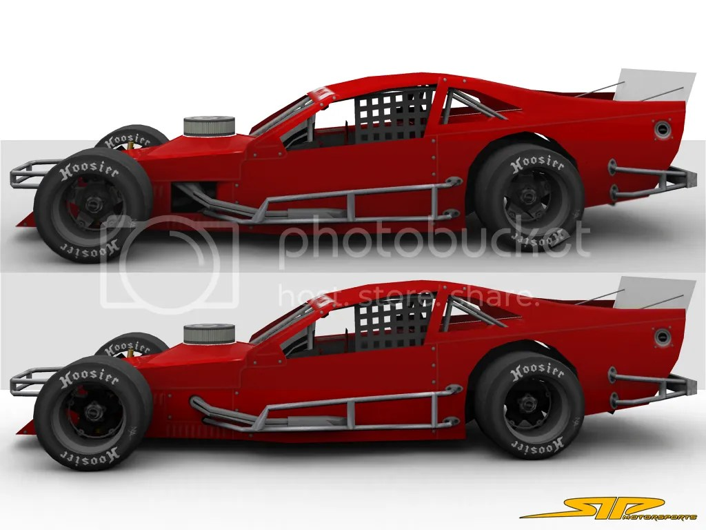 Troyer Modified Race Car Templates