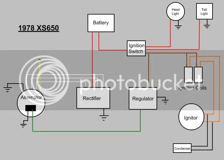 xs650 coil wiring | wiring diagram on yamaha wiring diagram, xs360 wiring  diagram,