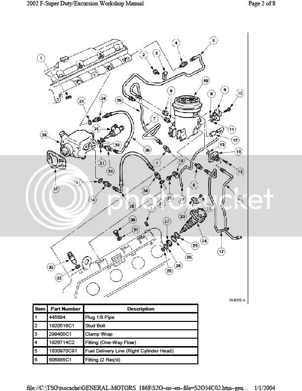 05 F250 Fuel Filter Housing