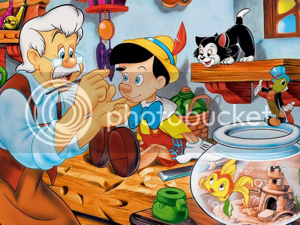 Pinocchio Cartoons Disney