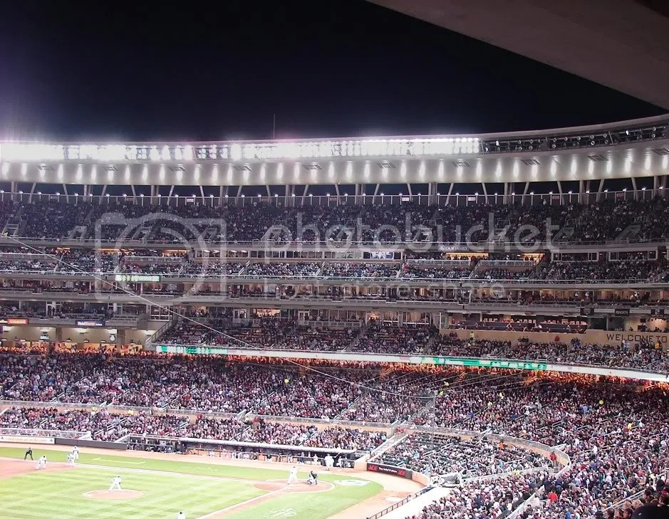 target field,baseball,minnesota twins,first night game