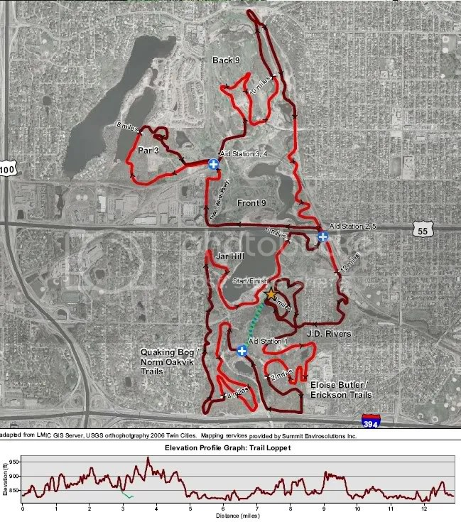 Loppet Map