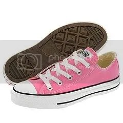 pink converse sneakers Pictures, Images and Photos