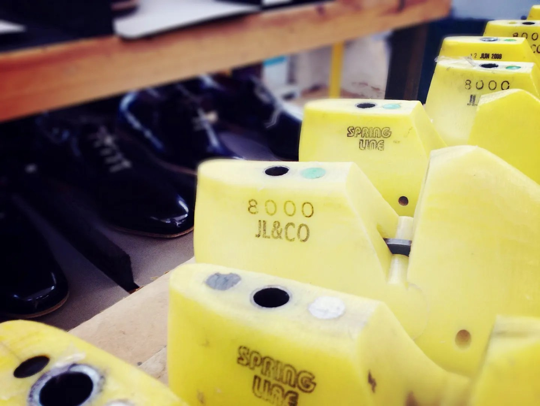 00O00 London Menswear Blog John Lobb Northampton shoe factory visit