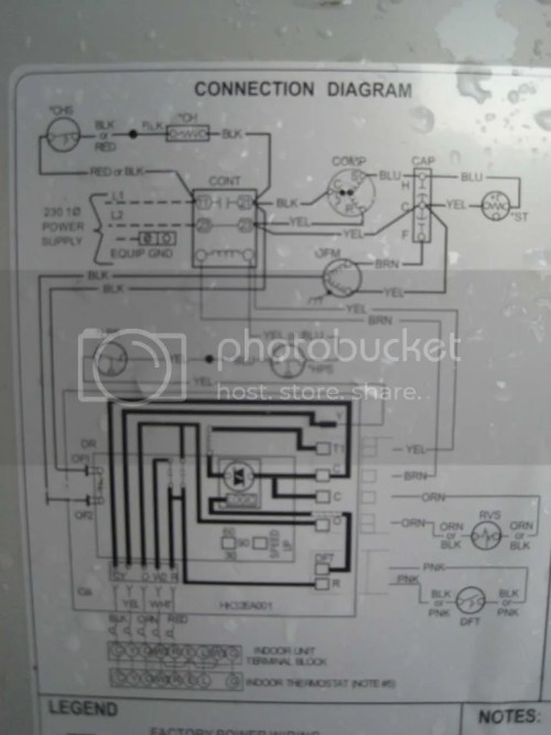 small resolution of outdoor unit wiring diagrams