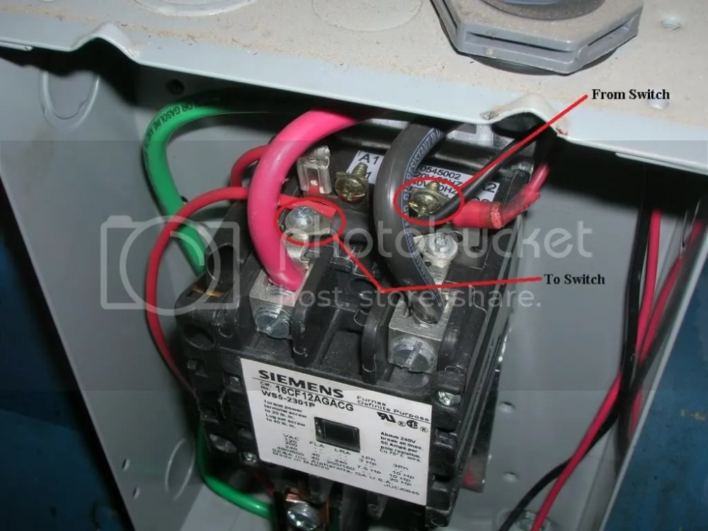 medium resolution of quincy compressor wiring the garage journal board wiring diagram b7 magnetic starter wiring for air compressor 5hp the garage journal