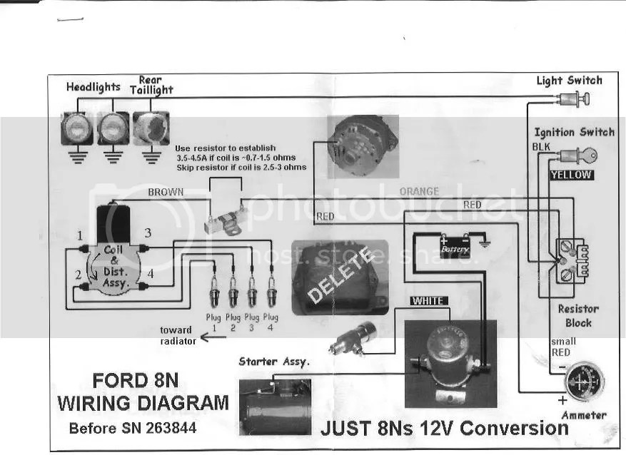 Willys Jeep For 12 Volt Conversion Diagram, Willys, Free