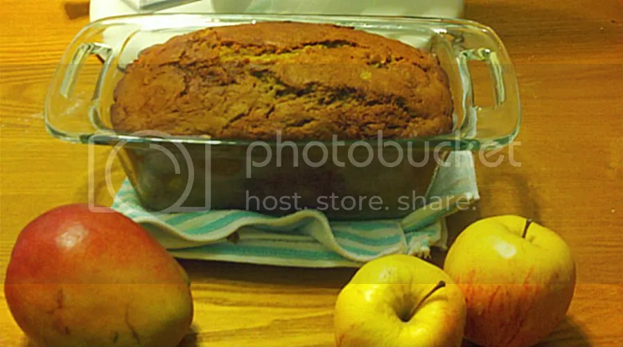 Honey Apple Mango Loaf