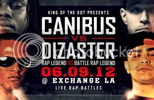 Canibus vs. Dizaster