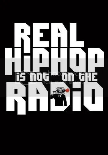 real Hip Hop is not on the radio