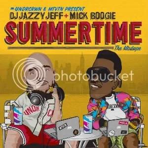 summertime mixtape cover
