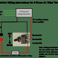 Marine Wind Generator Wiring Diagram Parts Of The Brain Labeled 50 Amp Stop Brake Switch Ac Or Dc Turbine Grade | Ebay