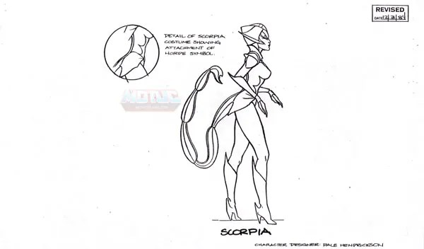 Masters Of The Universe Classics: Filmation She-Ra Model