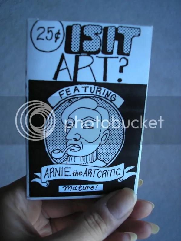 Arnie the Art Critic Mini-Comic