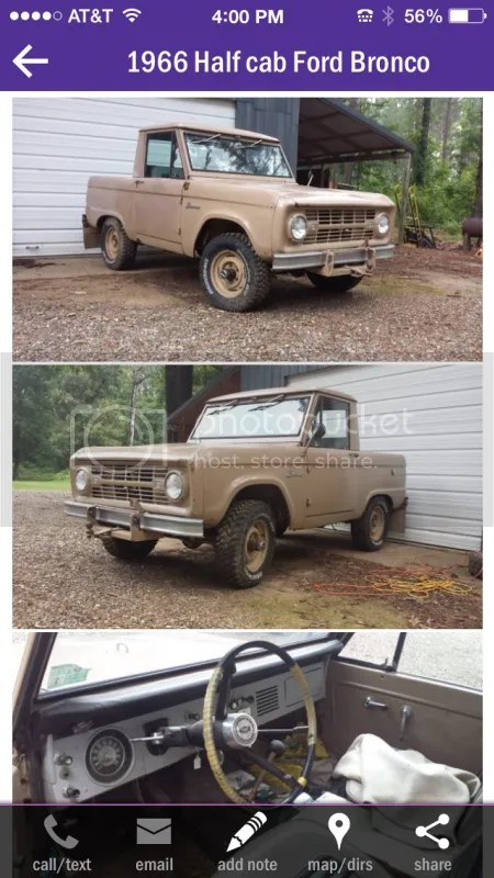 66 77 Bronco Craigslist : bronco, craigslist, Where, ClassicBroncos.com, Forums