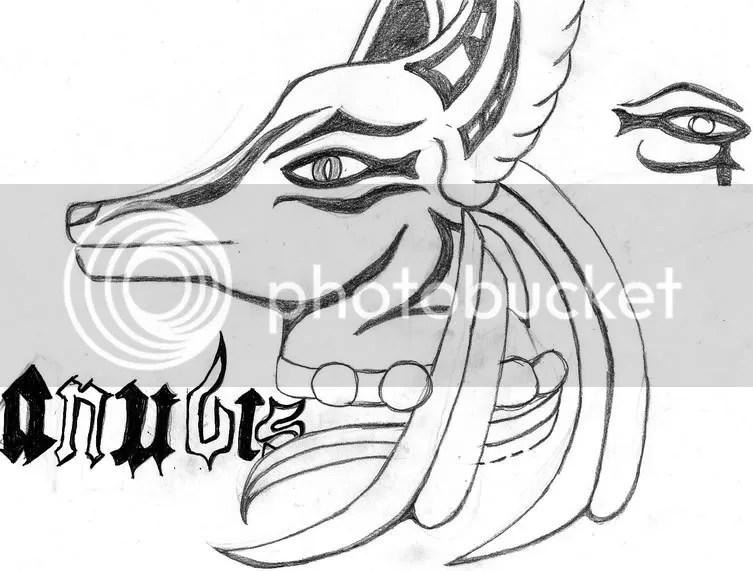 Dibujo De Anubis Imagui