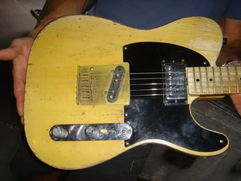 "blackguard telecaster® build continued keith richards ""micawber the bridge pickup is the subject of much heated debate for a long time it was accepted that keef used an original fender broadcaster bridge pickup"