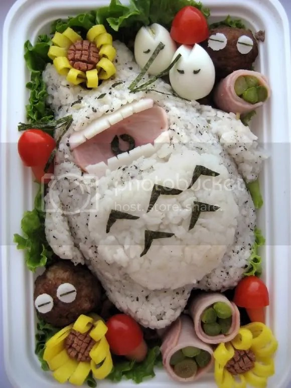This Totoro may be even more happy to see you than the last...