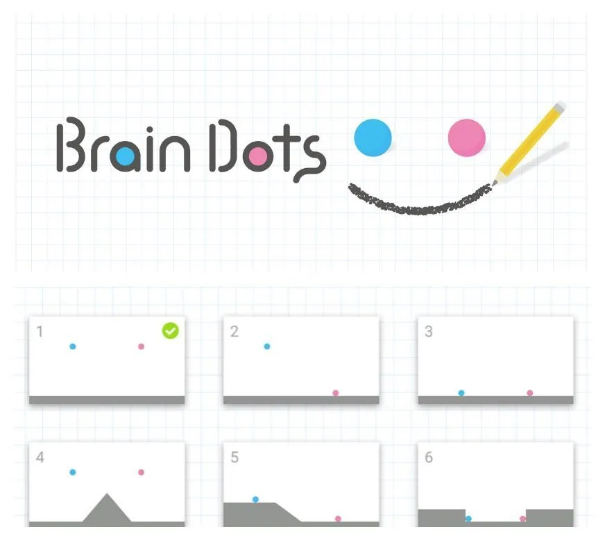 Brain Dots: A brain teaser of an app that proves you may