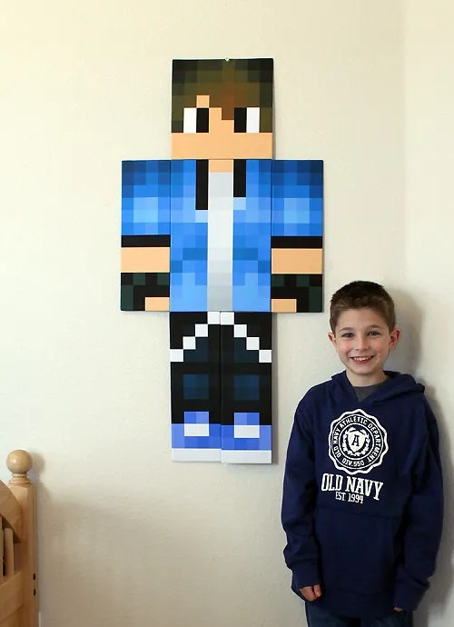 Your Own Make Character Minecraft