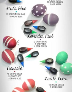 How to dye easter eggs with food color mccormick   pantone dyeing guide also coloring perfectly rh coolmompicks