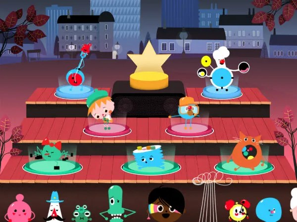 Toca Band kids' musical app for iPhone and iPad | Toca Boca