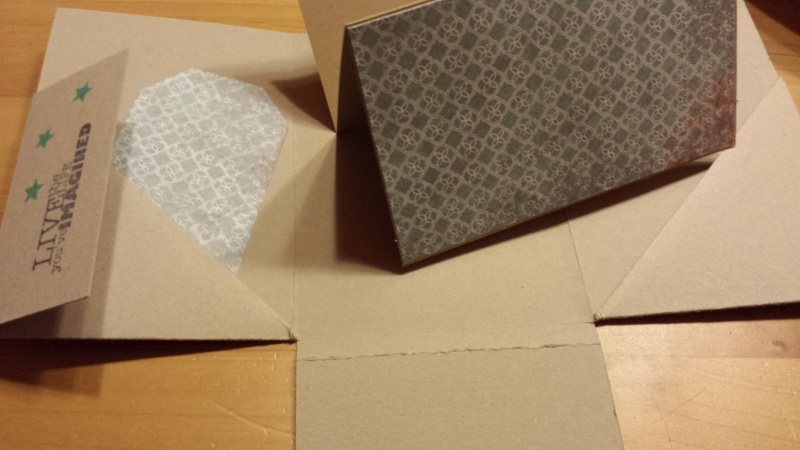 Minialbum Sale-A-Bration 2014 Im Fähnchenfieber Designerpapier Patterned Paper This and That