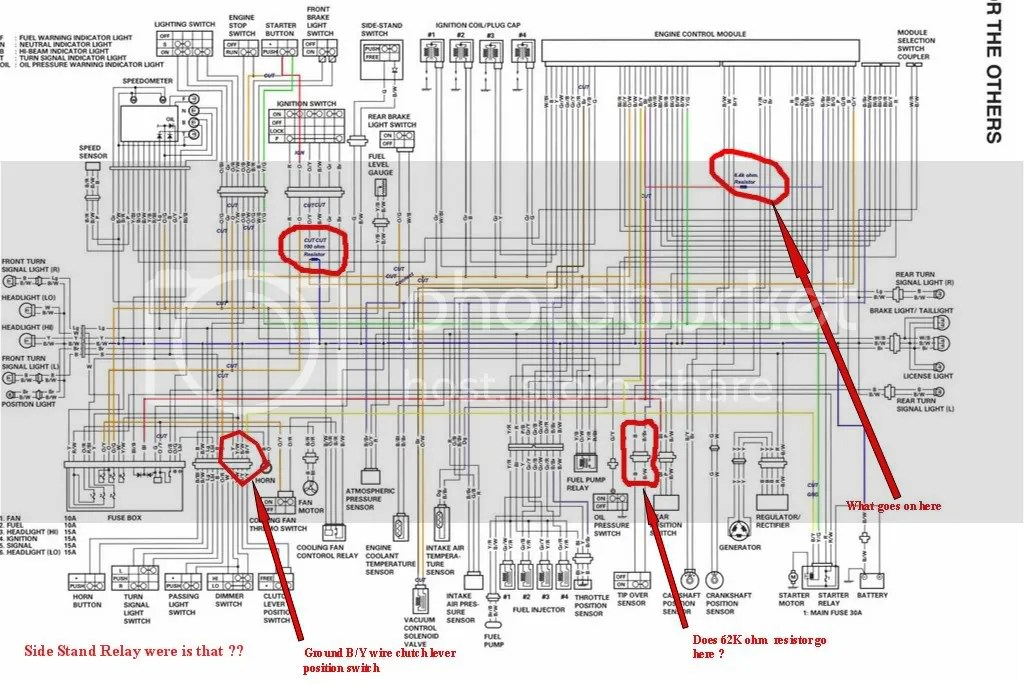 2004 hayabusa wiring diagram wiring schematic diagram - 1999 yamaha 650  wiring diagram