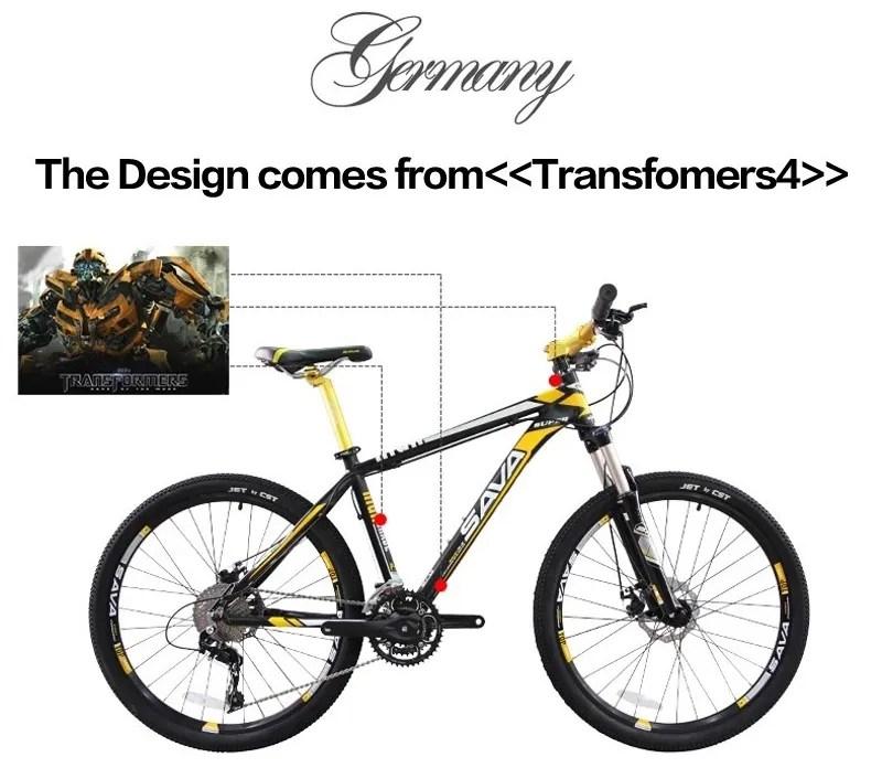 2015 SAVA 26'' Mountain Bike 30S Bicycle Aluminum Alloy