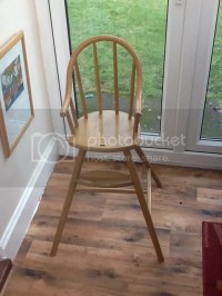 Ikea Gulliver Wooden High Chair Also A Perfect Toddler ...