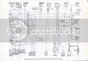 Honda C90 Wiring Diagram   Wiring Library