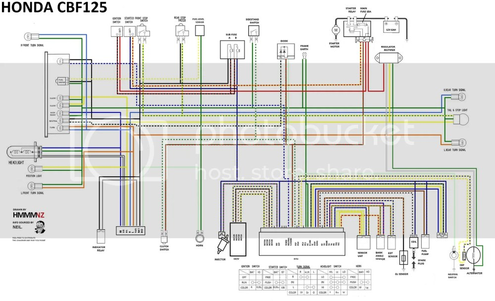 medium resolution of honda 125s wiring diagram wiring diagram operations honda 125cc wiring
