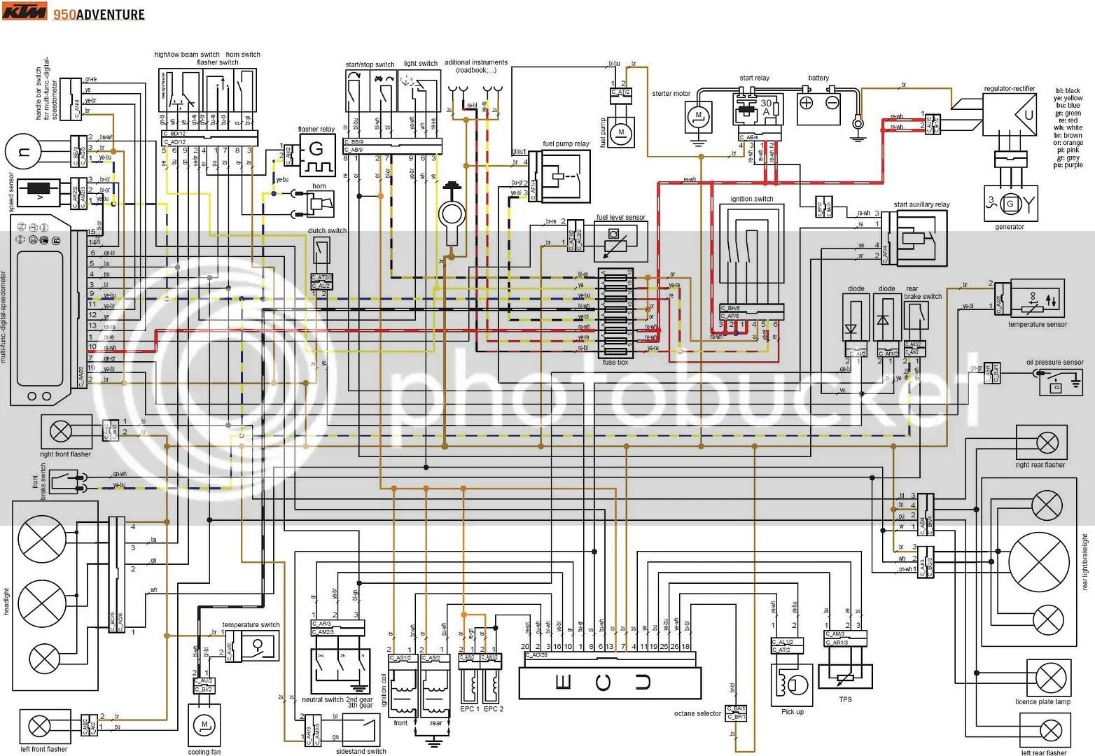 G 06 Ktm Exc Wiring Diagram Diagrams Hubs Polaris Sportsman 500 Ignition Explorer
