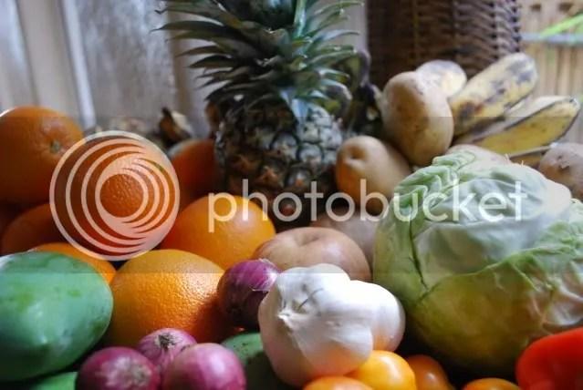 tropical fruits etc