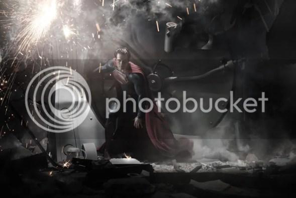 A primeira imagem de Man of Steel