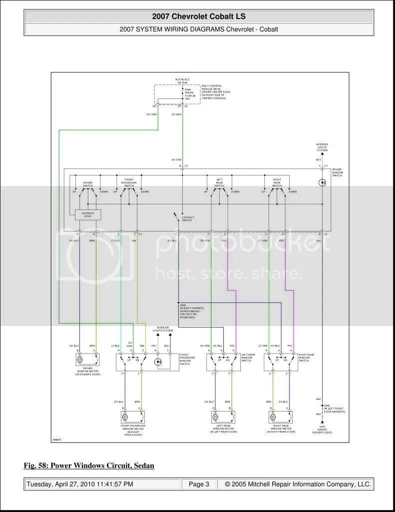 medium resolution of power window wiring diagram for 2009 equinox power get