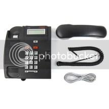 Nortel Norstar T7316 Charcoal Avaya Business Phone Refurb