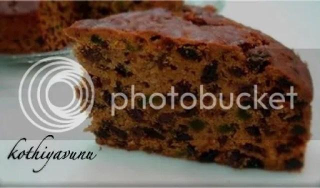 Kerala Plum Cake-Christmas Fruit Cake |kothiyavunu.com