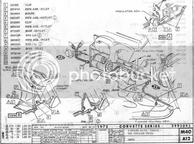 Th350 Radiator Transmission Cooler, Th350, Free Engine