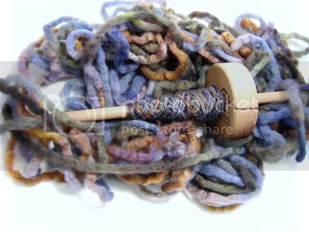 Pencil Roving from Fiber Denn